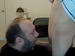 Daddy Gets Young Spunk
