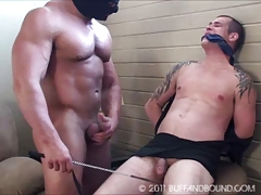 Muscle Twink Bound and Fucked